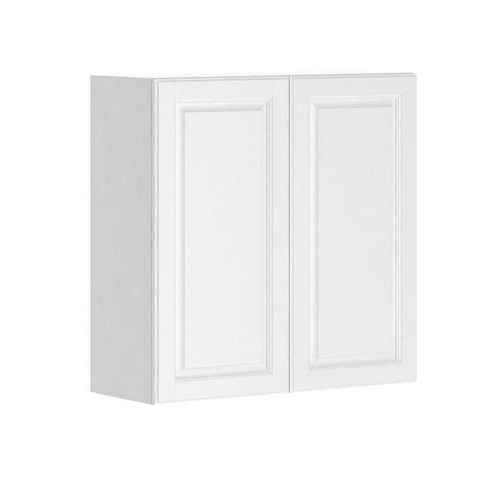 Fabritec Ready to Assemble 30x30x12.5 in. Birmingham Wall Cabinet in White