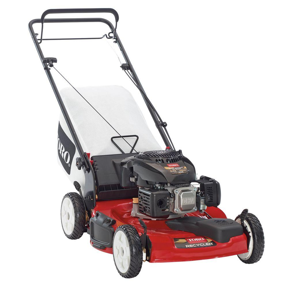 Toro Recycler 22 in. Low Wheel Variable Speed Front Wheel Drive Self-Propelled Gas Lawn Mower with Kohler Engine
