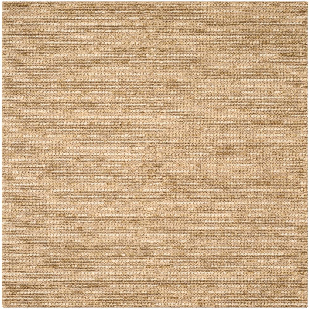 Bohemian Beige/Multi 8 ft. x 8 ft. Square Area Rug