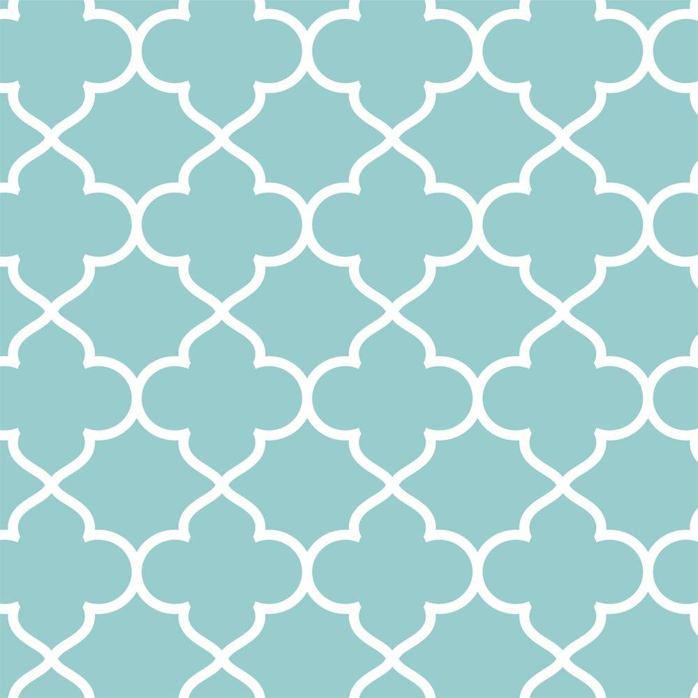 Stencil Ease 19.5 in. x 19.5 in. Asilah Wall Painting Stencil
