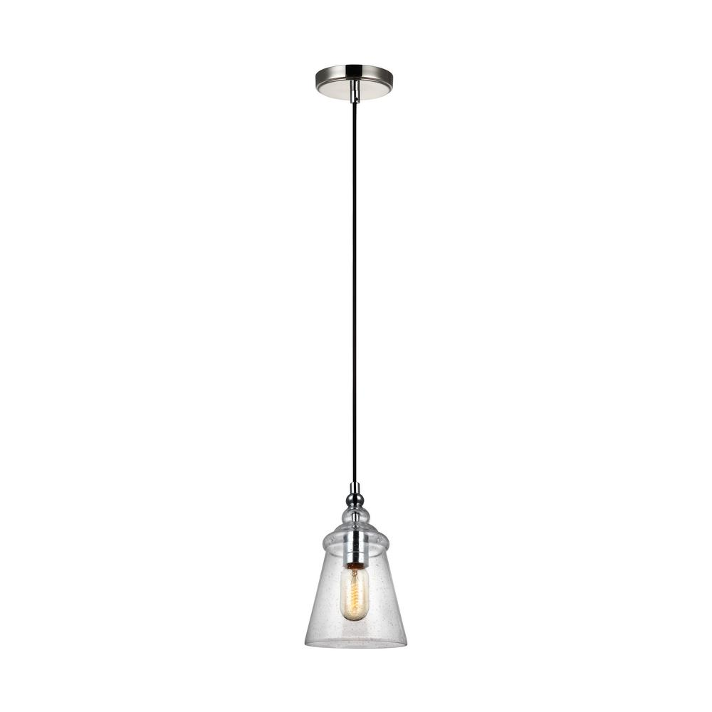 Loras 1-Light Chrome Mini-Pendant