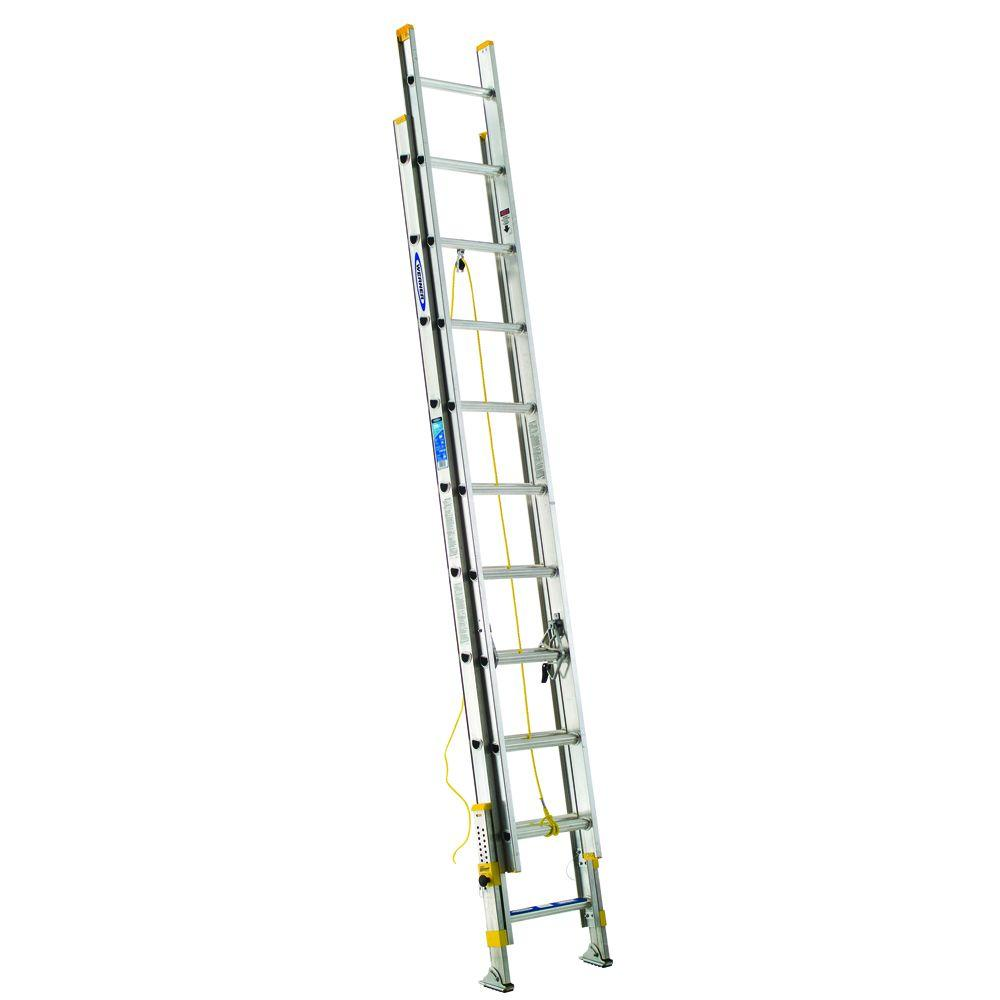 20 ft. Aluminum D-Rung Equalizer Extension Ladder with 250 lb. Load