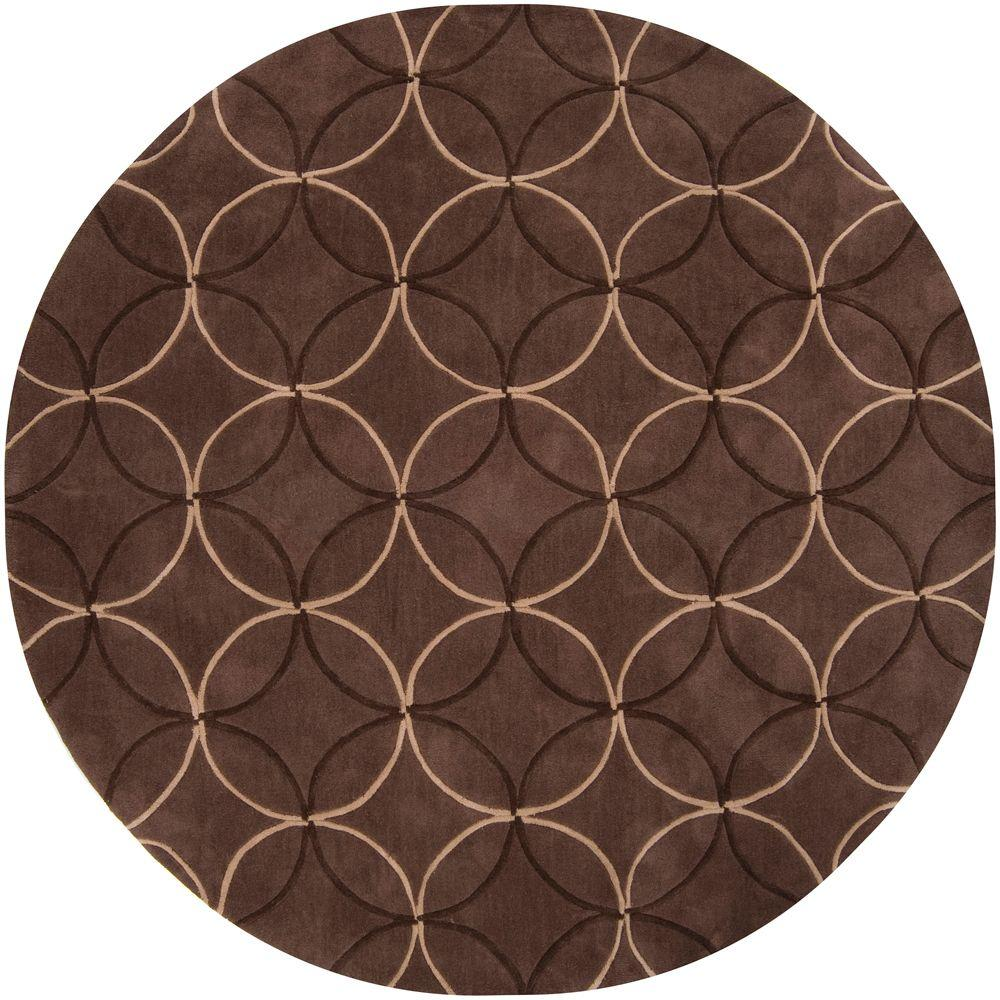 Artistic Weavers Cerbat Brown 8 ft. x 8 ft. Round Area