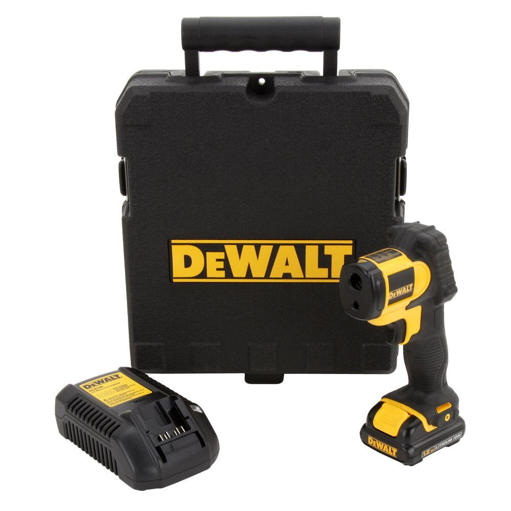 DEWALT 12-Volt MAX Lithium-Ion Infrared Thermometer Kit