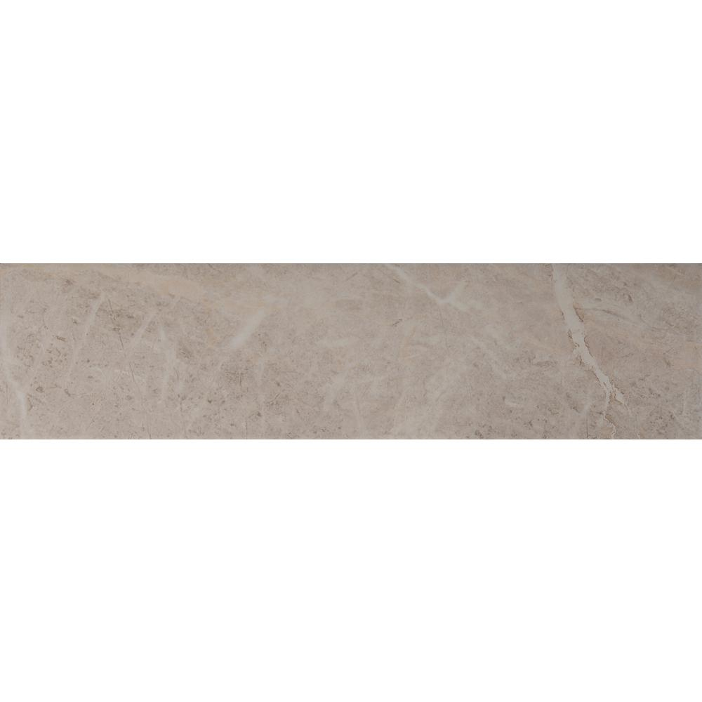 Petra Classica 6 in. x 24 in. Glazed Porcelain Floor and