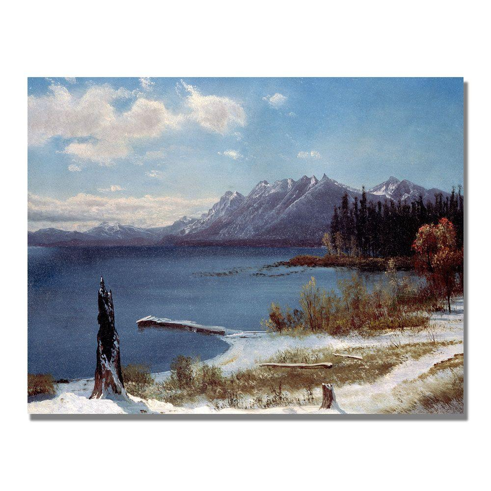 24 in. x 32 in. Lake Tahoe Canvas Art