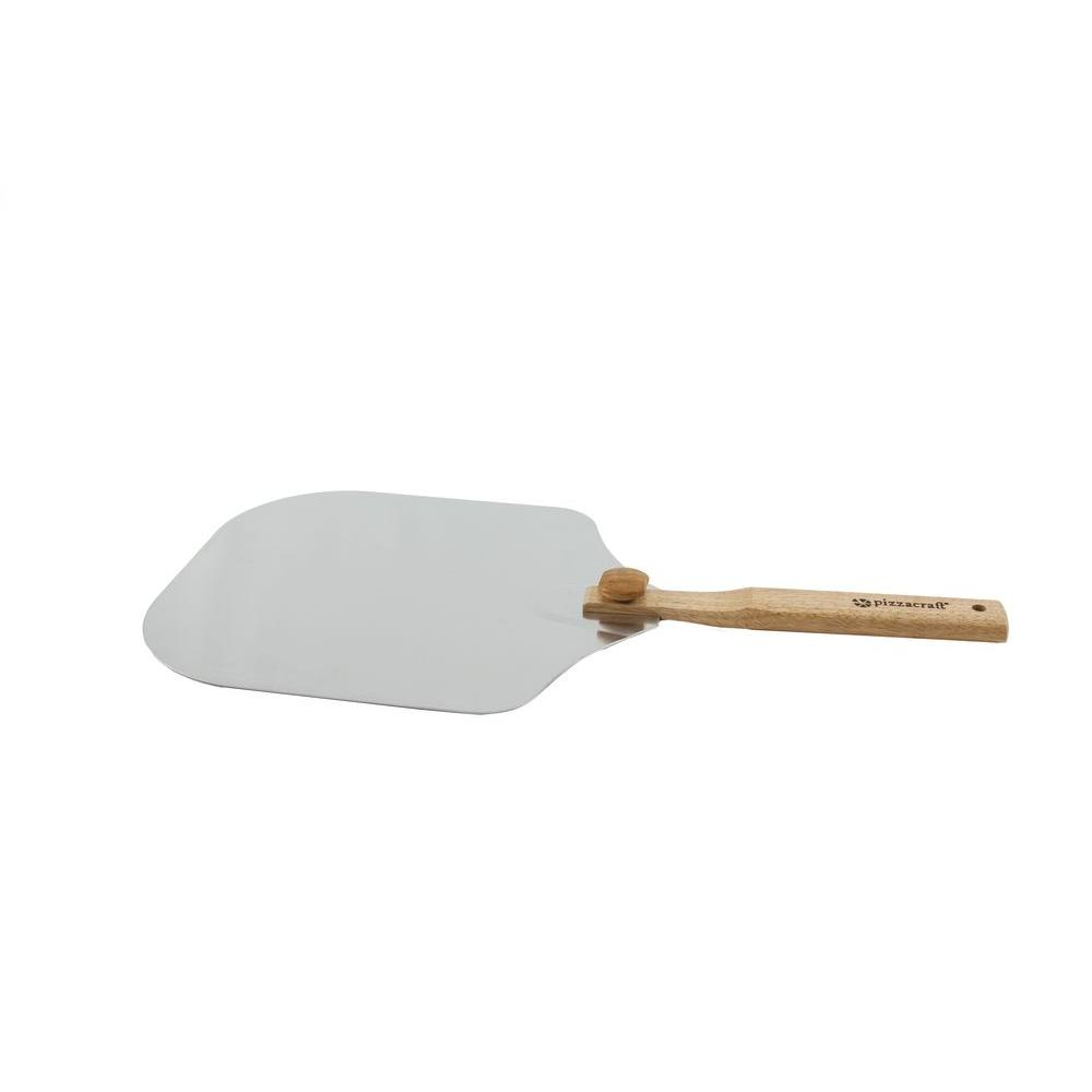 pizzacraft PizzaQue Aluminum Pizza Peel with Folding Handle-PC7002 - The Home