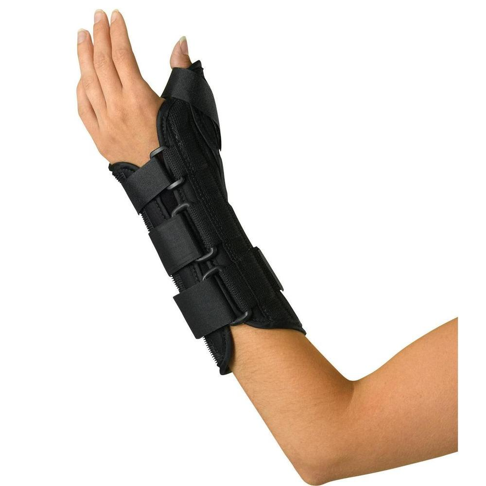 Extra-Large Wrist and Forearm Left-Handed Splint with Abducted Thumb