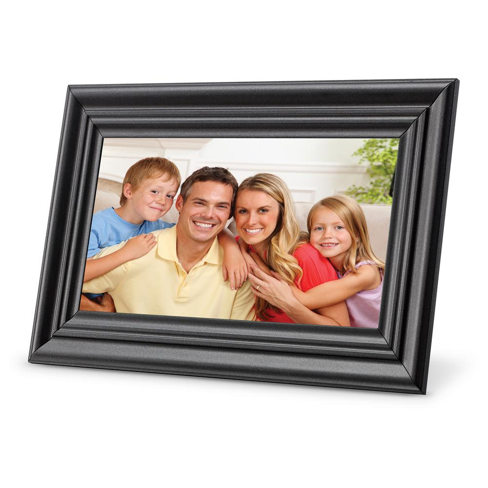 7 in. LCD Digital Photo Frame with USB and SD Inputs