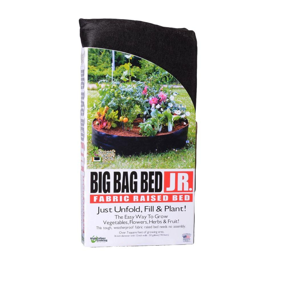 Big Bag Bed Junior Fabric Raised Garden Bed 12050 The Home Depot