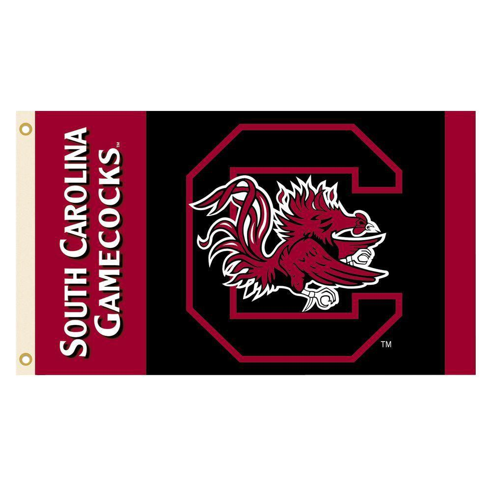 BSI Products NCAA South Carolina Gamecocks 2-Sided 3 ft. X 5