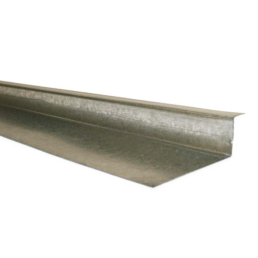 null 10 ft. Galvanized Steel Siding Z Flash