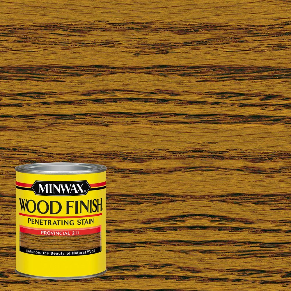 1 qt. Wood Finish Provincial Oil-Based Interior Stain
