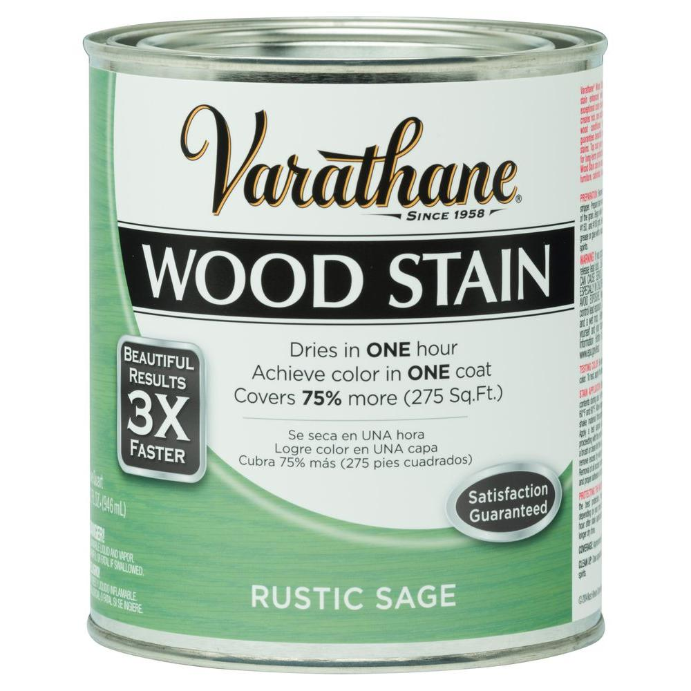 1 qt. 3X Rustic Sage Premium Wood Stain (Case of 2)