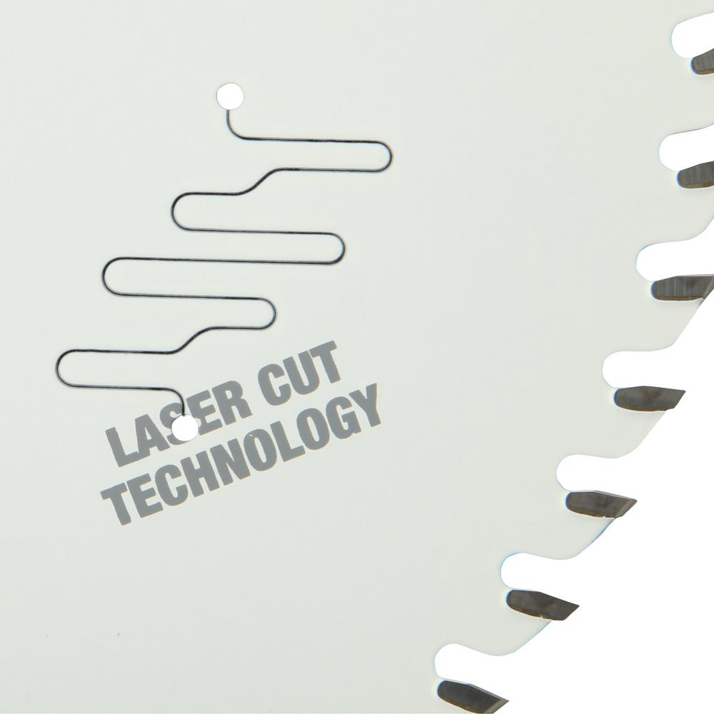 Saw blade featuring an anti-friction coating to help prevent gumming
