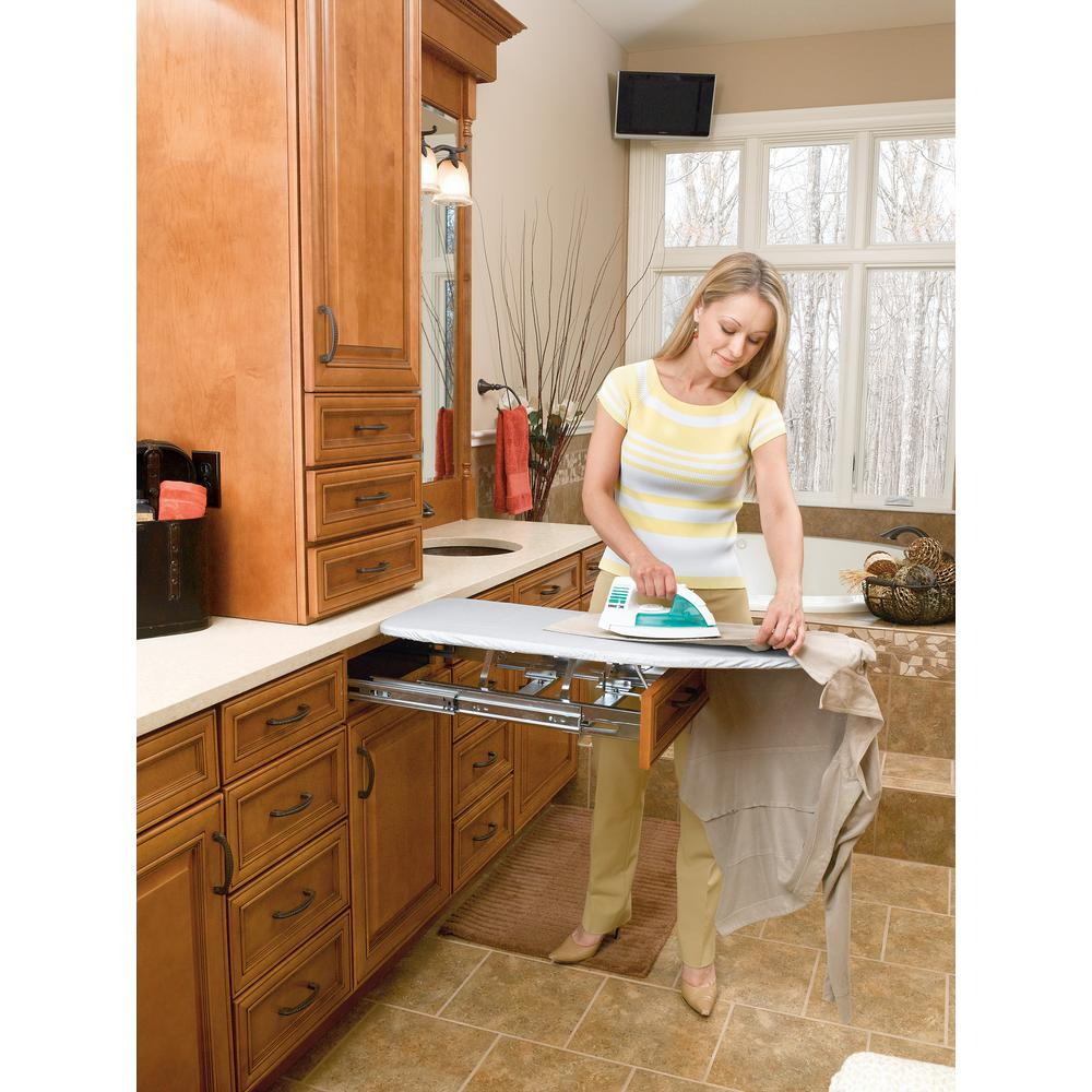 Vanity Pull-Out Ironing Board