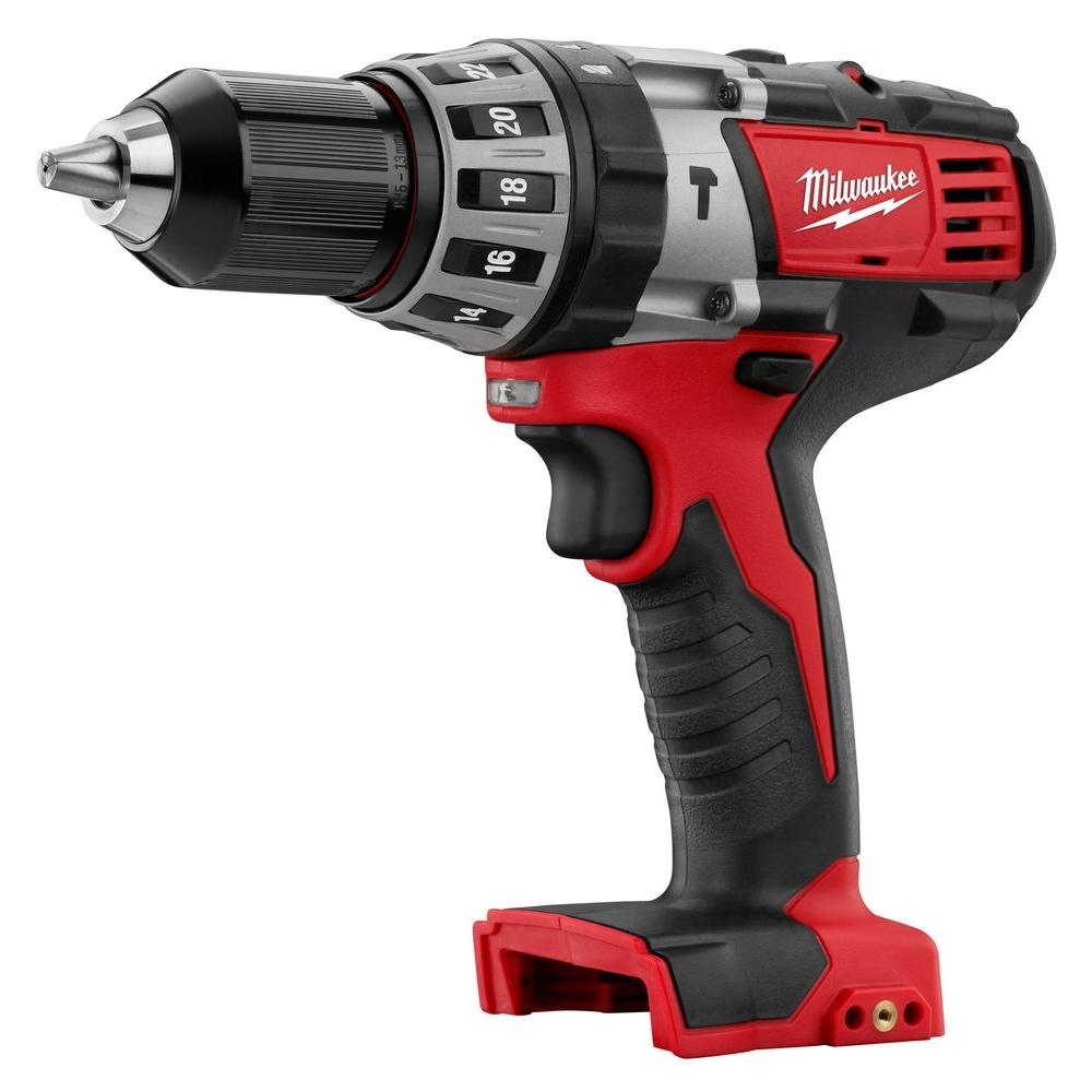 Milwaukee M18 18-Volt Lithium-Ion 1/2 in. Cordless Hammer Drill/Driver (Tool Only)