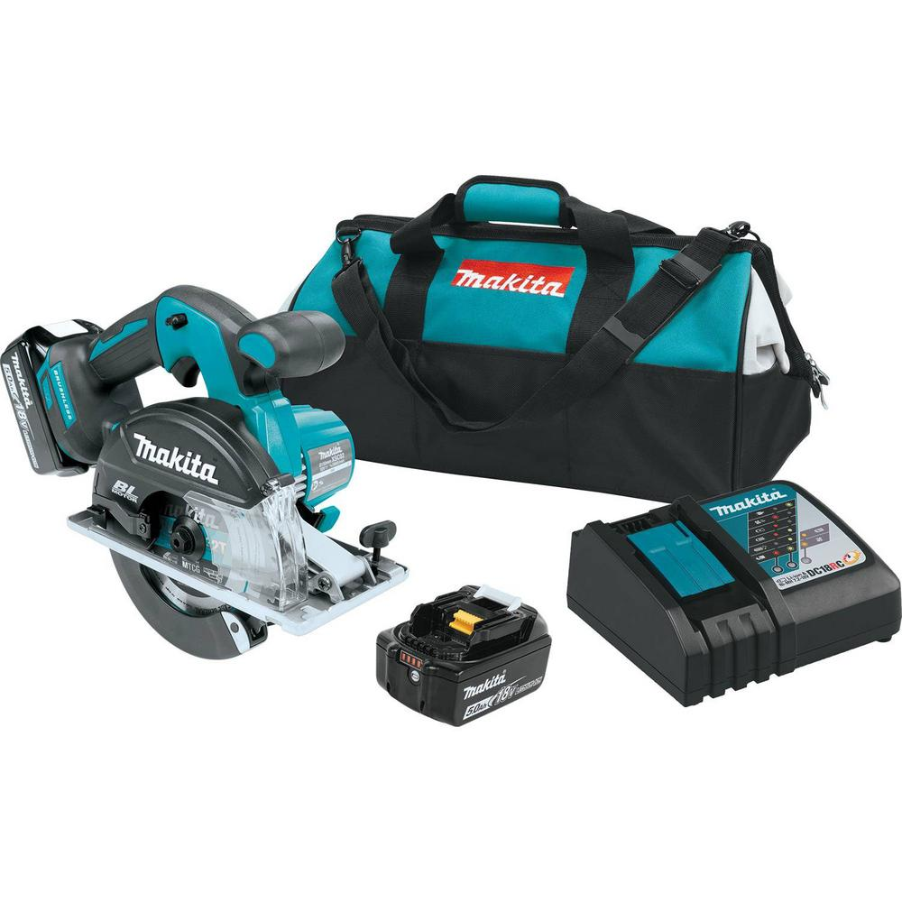 18-Volt 5.0Ah LXT Lithium-Ion Cordless 5-7/8 in. Metal Cutting Saw Kit