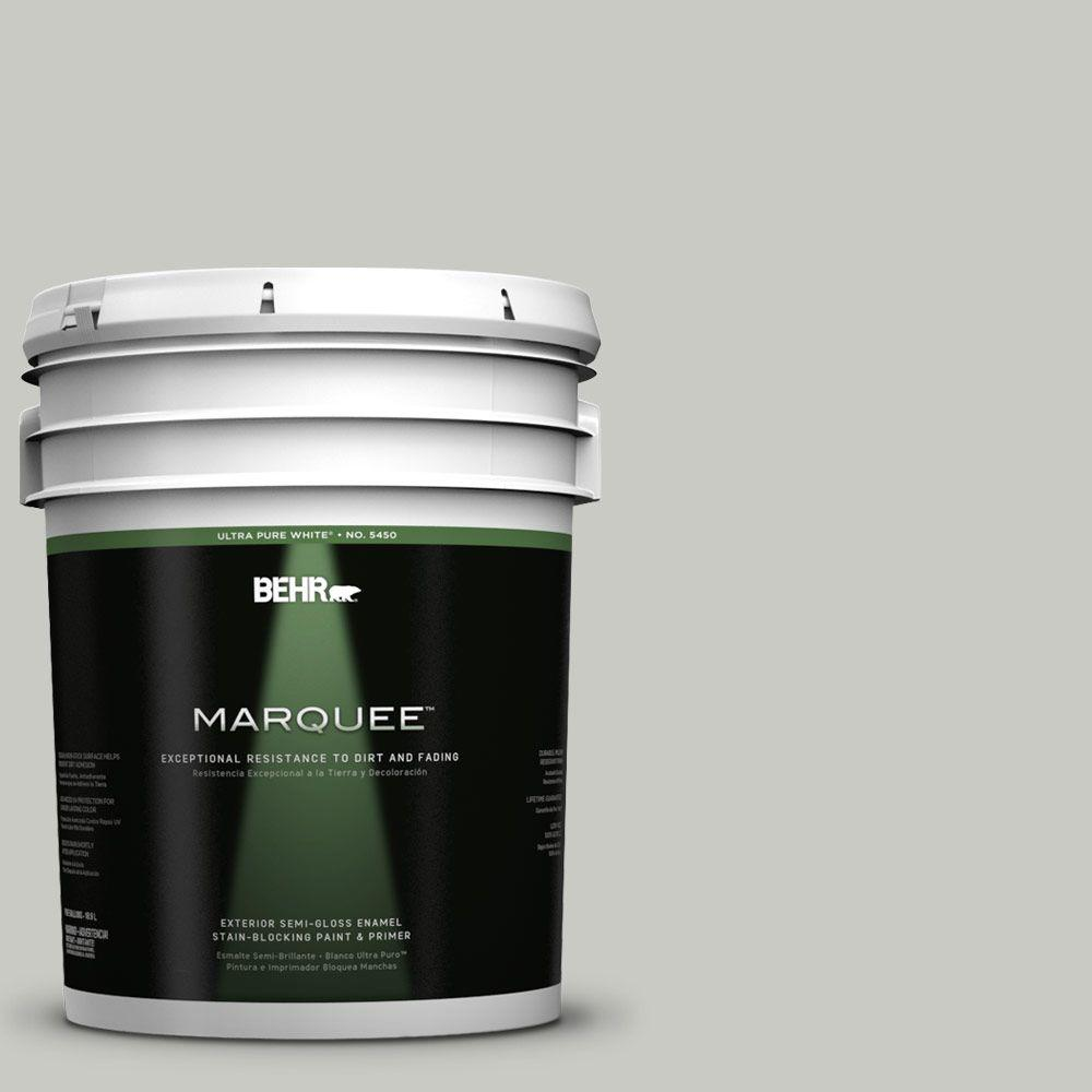 BEHR MARQUEE 5-gal. #PPF-16 Paving Stones Semi-Gloss Enamel Exterior Paint