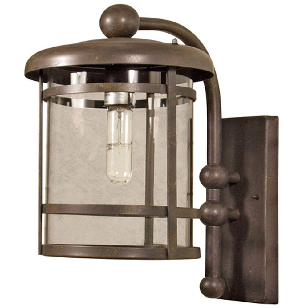 Yosemite Home Decor Heavenly Collection Wall mount 1-Light Outdoor Lamp -Discontinued