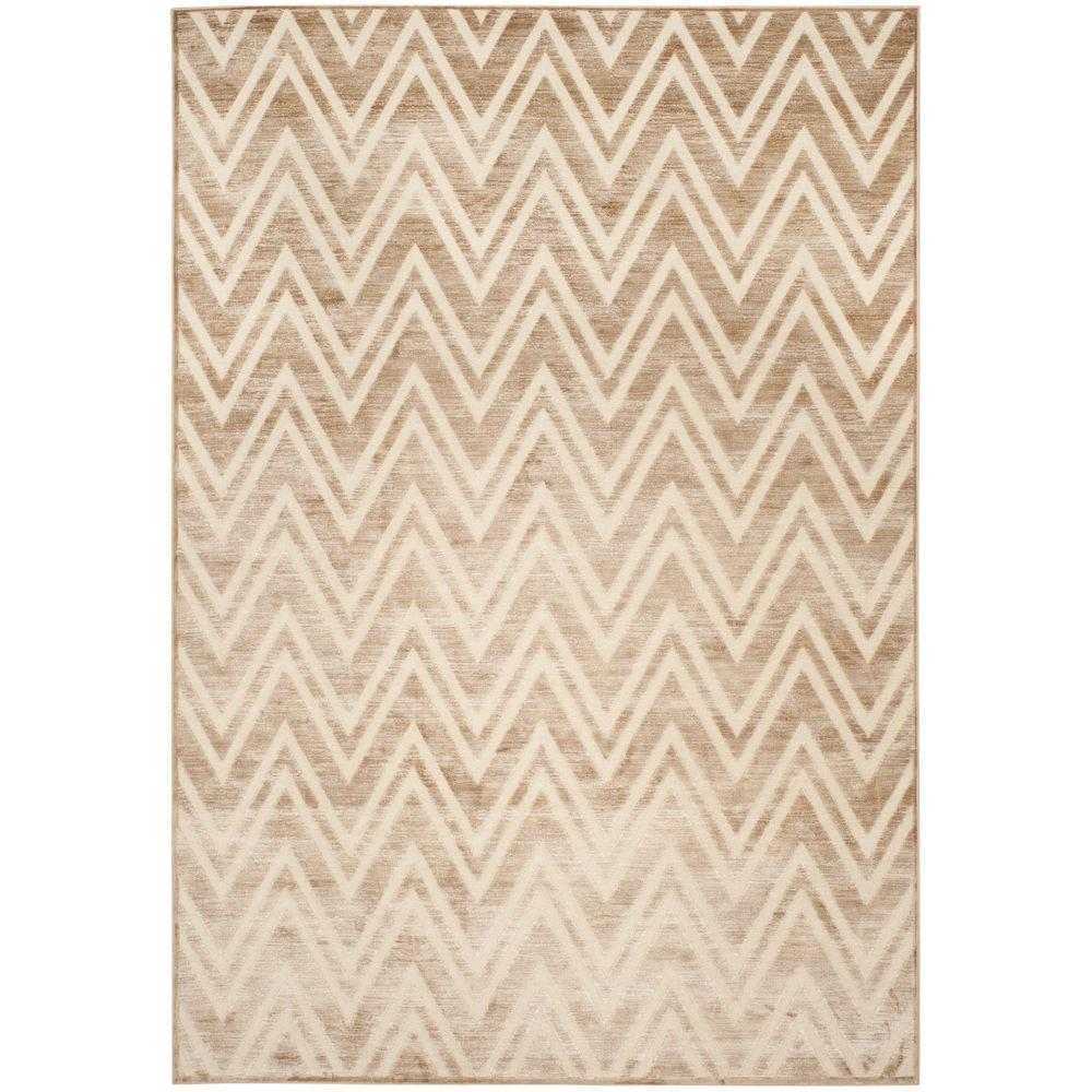 Paradise Caramel/Cream 8 ft. x 11 ft. 2 in. Area Rug