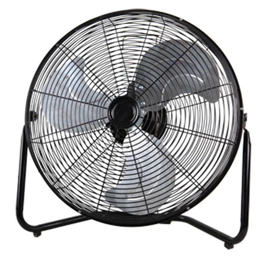 20 in. 3-Speed High-Velocity Floor Fan