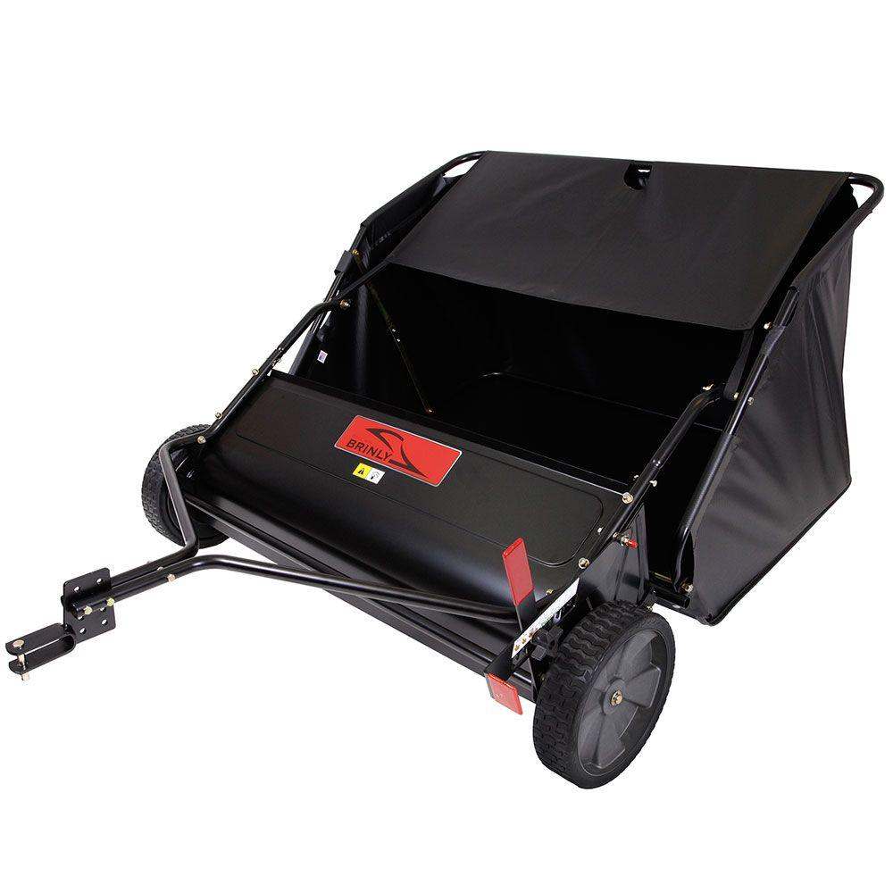 42 in. 20 cu. ft. Tow-Behind Lawn Sweeper