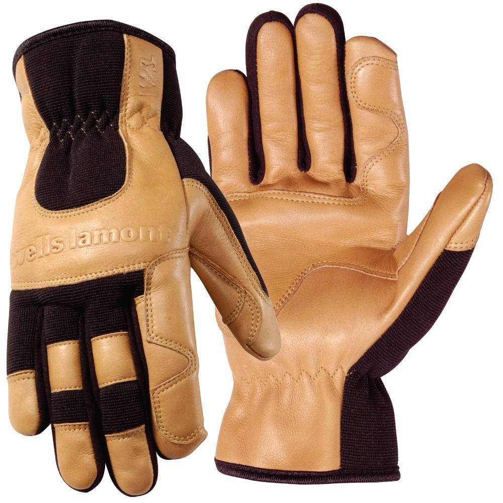 Wells Lamont Grips Gold Ultra Comfort Glove, X-Large-DISCONTINUED