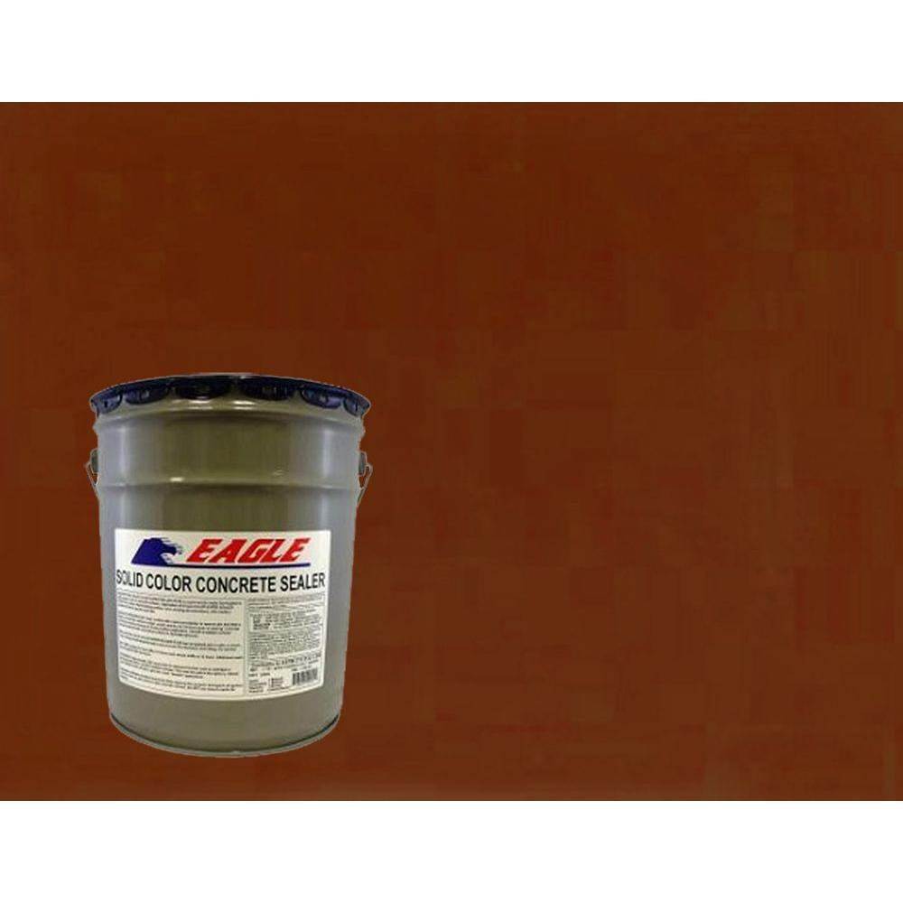 Eagle 5 gal. Tile Red Solid Color Solvent Based Concrete Sealer-EHTR5