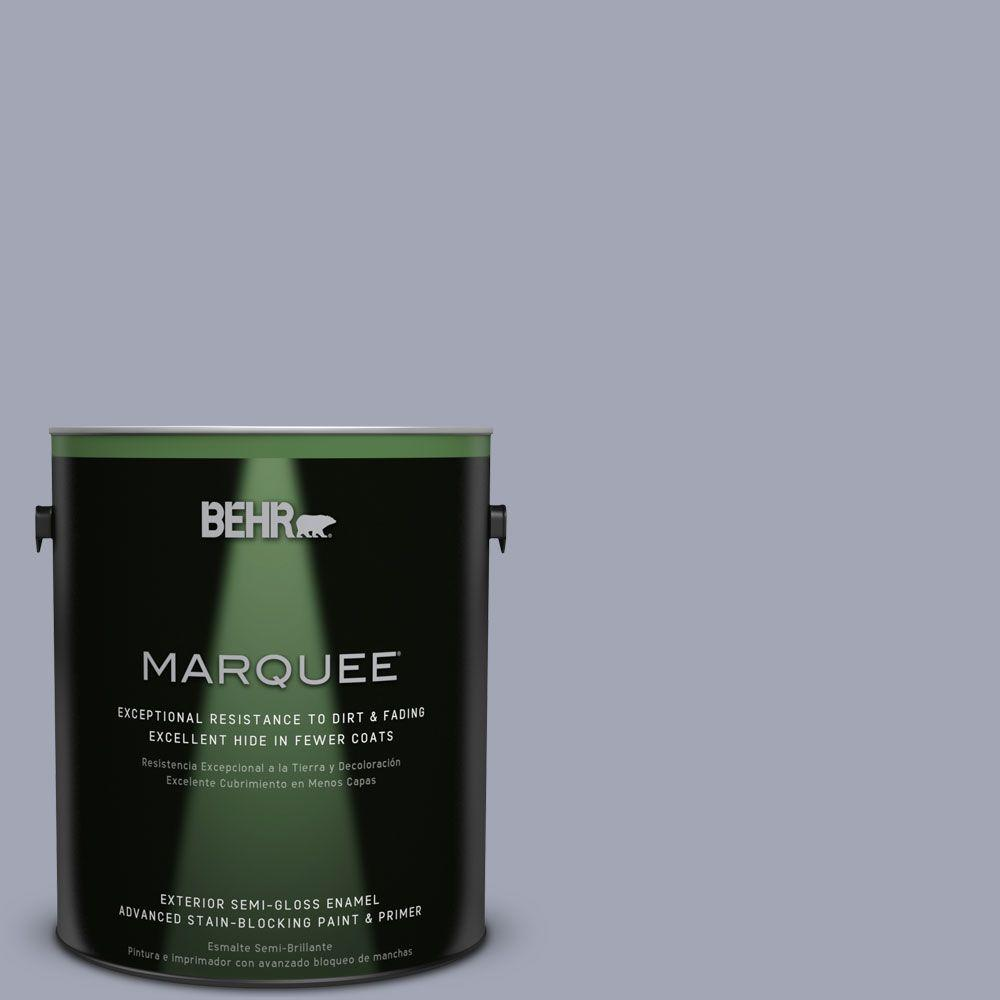 BEHR MARQUEE 1-gal. #PPU15-11 Great Falls Semi-Gloss Enamel Exterior Paint