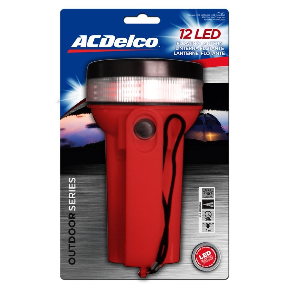 ACDelco Floating LED Battery-Powered Lantern Flashlight-AC351 - The Home Depot