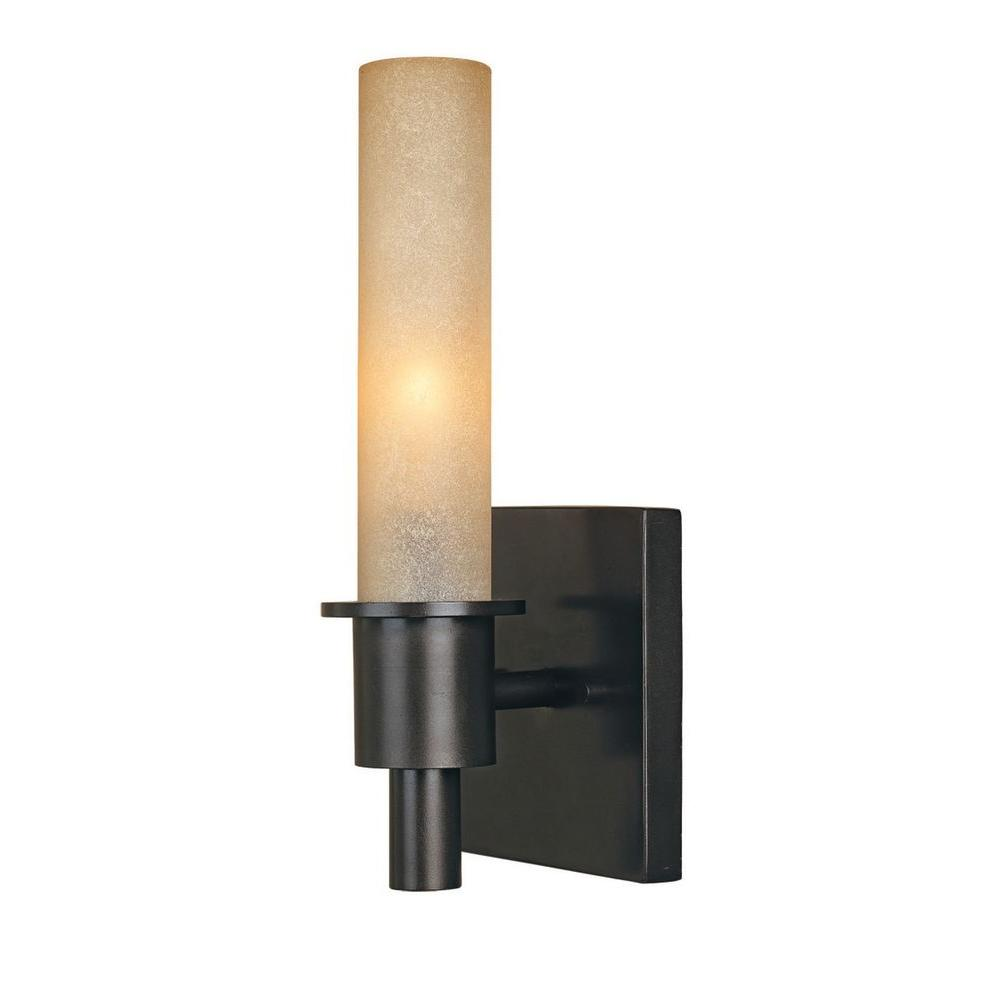 World Imports Dunwoody 1-Light Oil-Rubbed Bronze Sconce