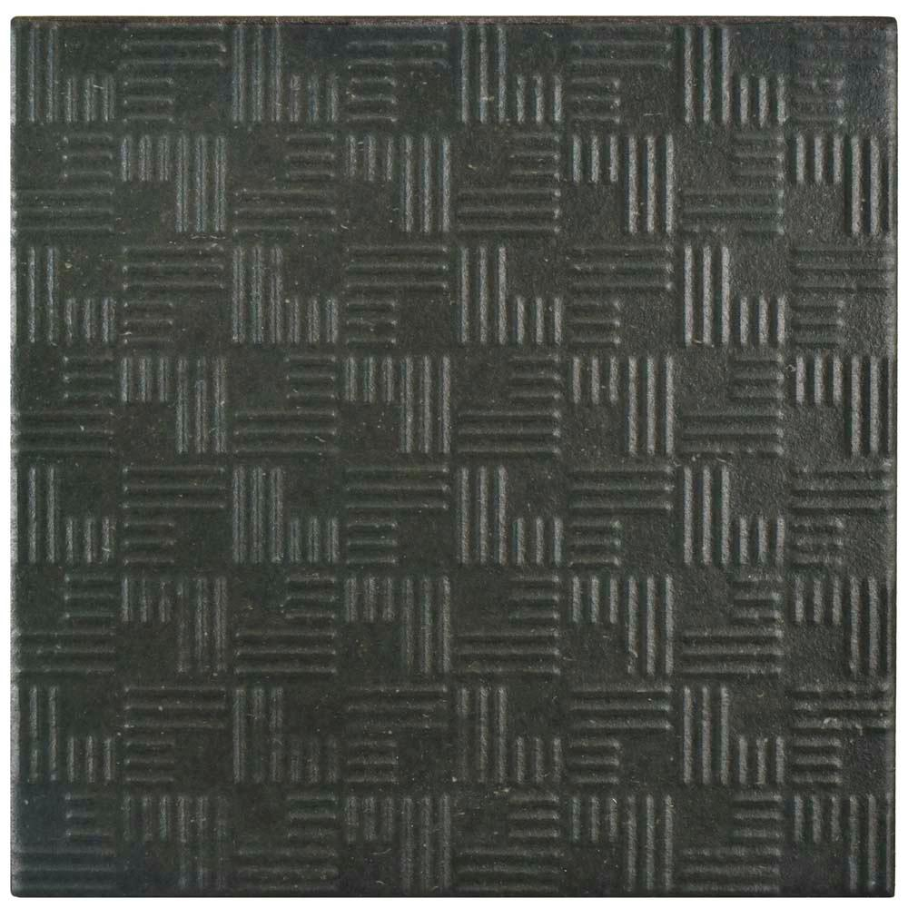 Merola Tile Area 15 Graphite 6 in. x 6 in. Porcelain