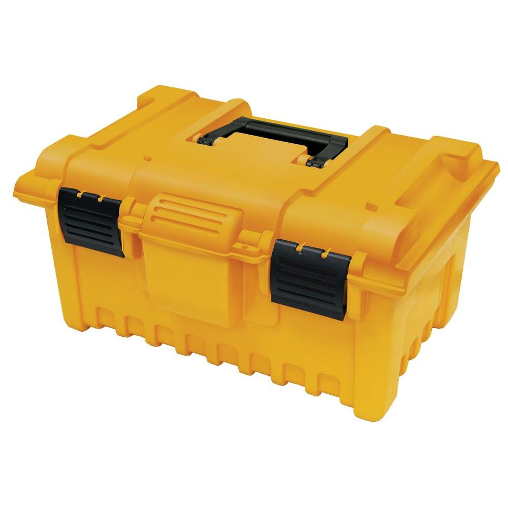 19 in. Power Tool Box with Tray