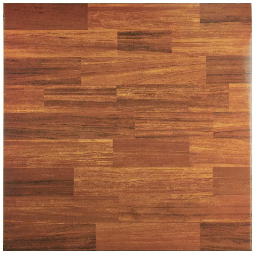 Dallas Caramelo 17-3/4 in. x 17-3/4 in. Ceramic Floor and Wall
