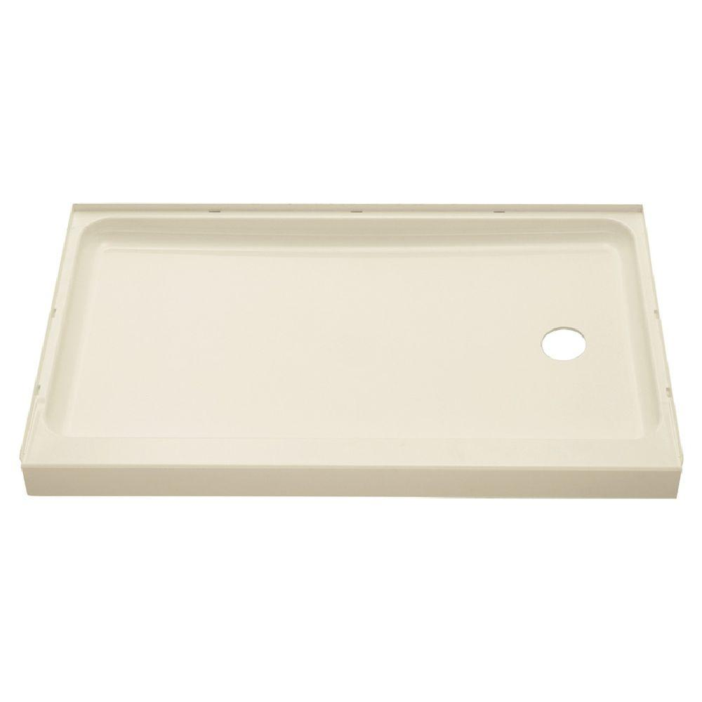 Ensemble 60 in. x 30 in. Single Threshold Shower Base with