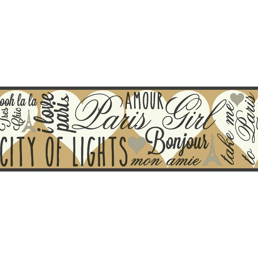 Brothers and Sisters V City of Lights Wallpaper Border