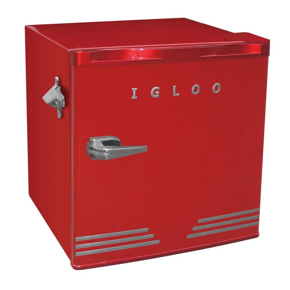 Compact Refrigerator Red Compact Refrigerator
