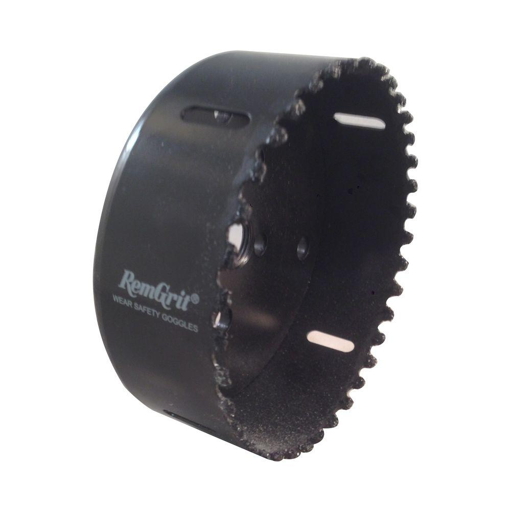 RemGrit 4-1/2 in. Diameter Carbide Grit Hole Saw