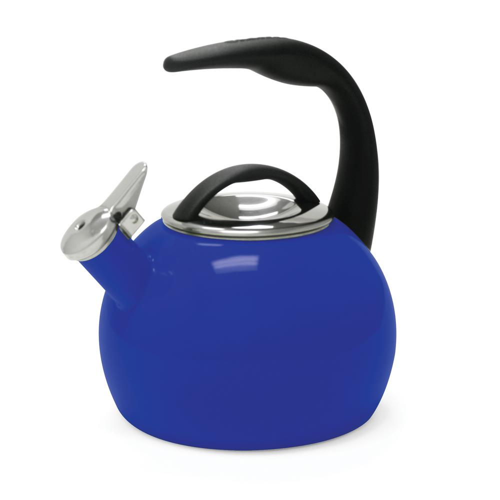 Vogelzang 3 qt tea kettle for use with wood stove tk 02 the home depot - Chantal teapots ...