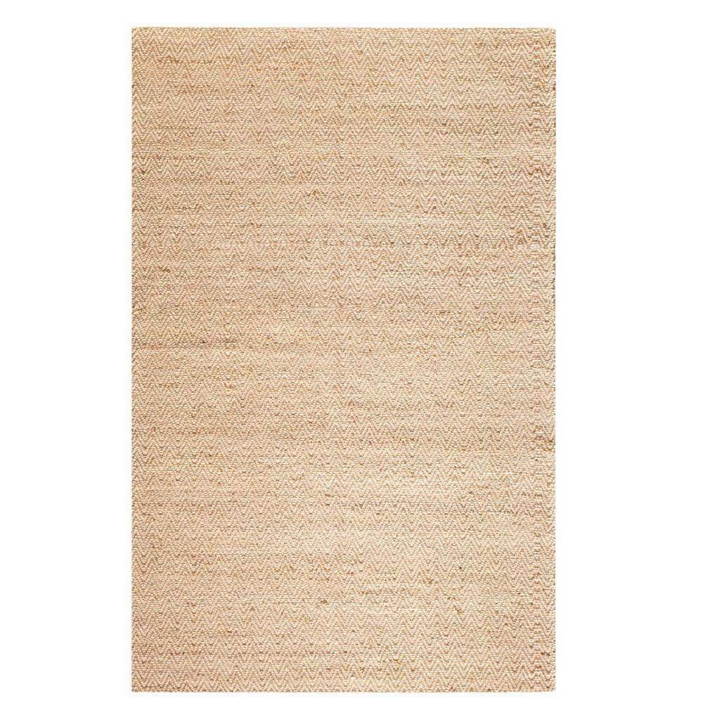Home Decorators Collection Zigzag Natural 8 ft. x 11 ft. Area Rug