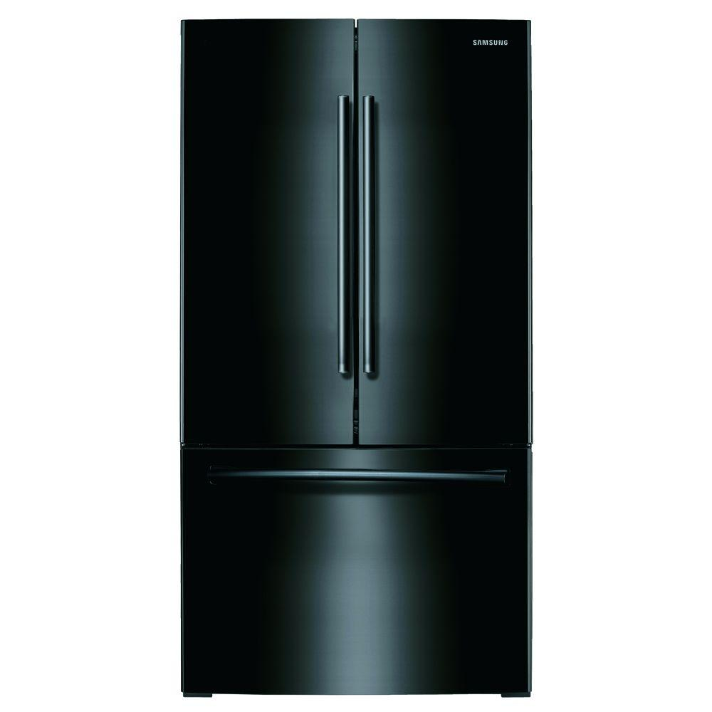 25.5 cu. ft. French Door Refrigerator with Internal Water Dispenser in