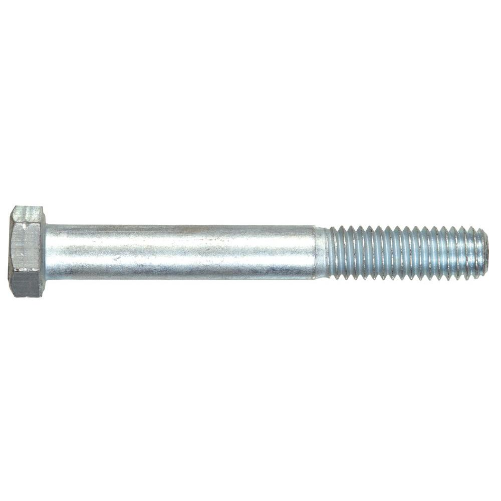 The Hillman Group 1 in. -8 x 3 in. External Hex Hex-Head Cap Screw (1-Pack)