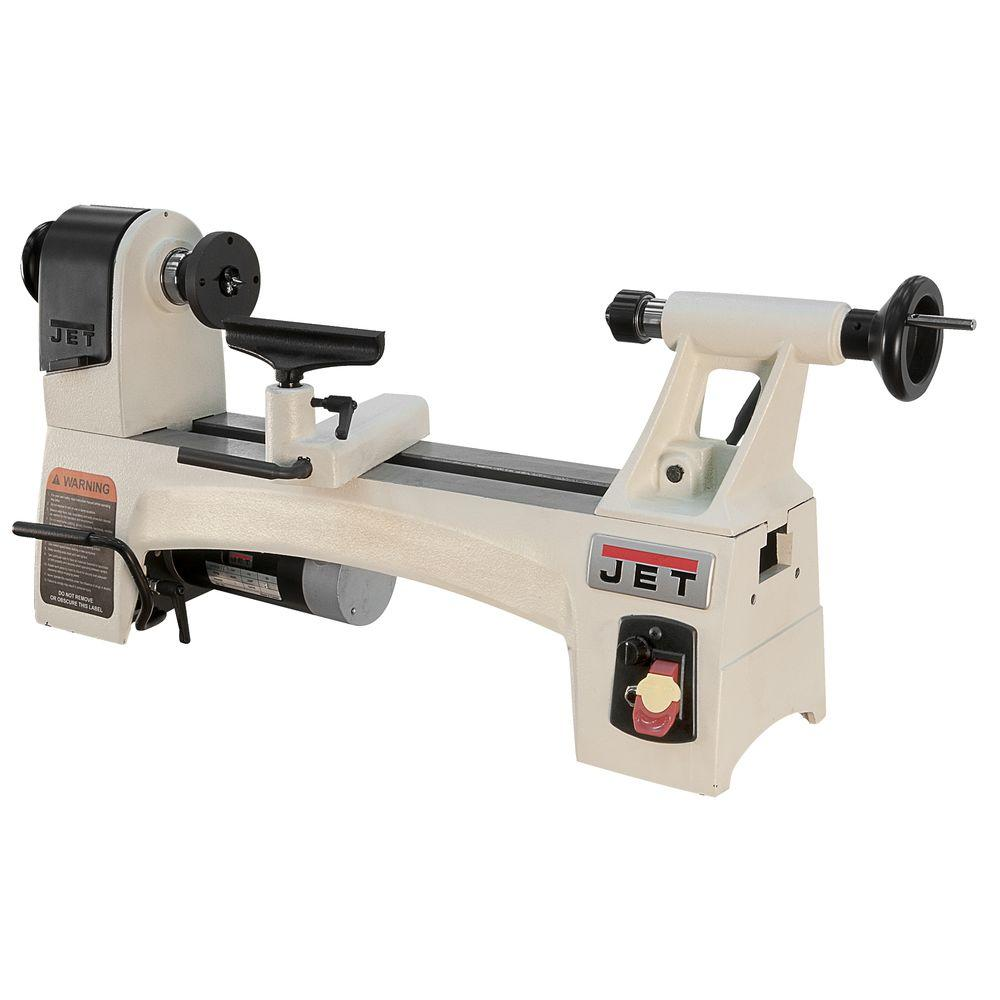 1/2 HP 10 in. x 15 in. Wood Lathe, Variable Speed,