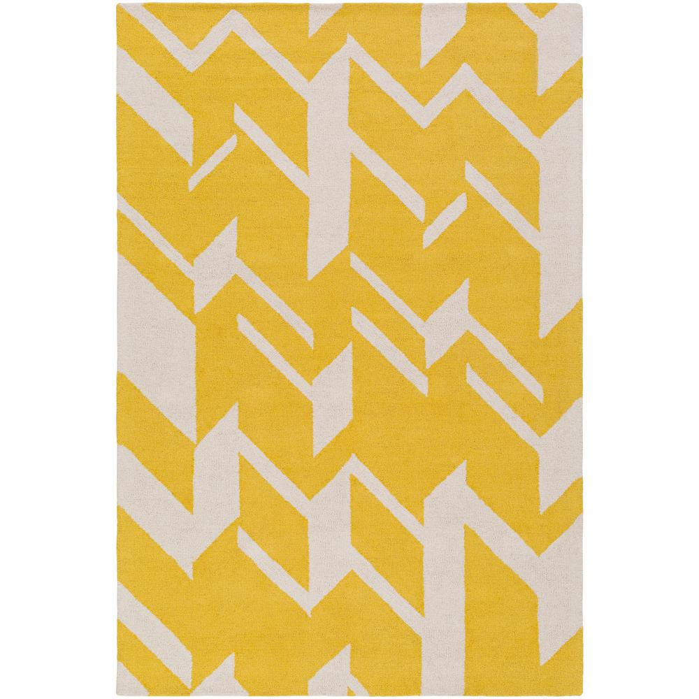 Hilda Annalise Bright Yellow 5 ft. x 7 ft. 6 in.