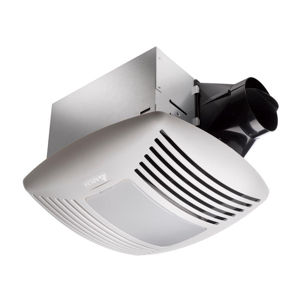 Signature 110 CFM Ceiling Exhaust Bath Fan with Light