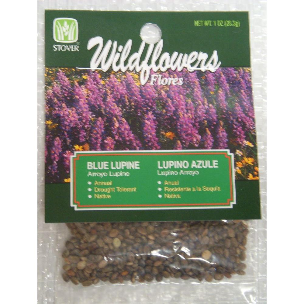 Stover Lupine Blue Seed-79019-6 - The Home Depot