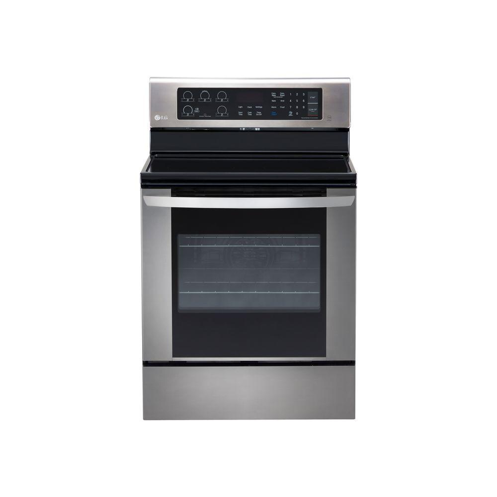 LG Electronics 6.3 cu. ft. Single Oven Electric Range with EasyClean