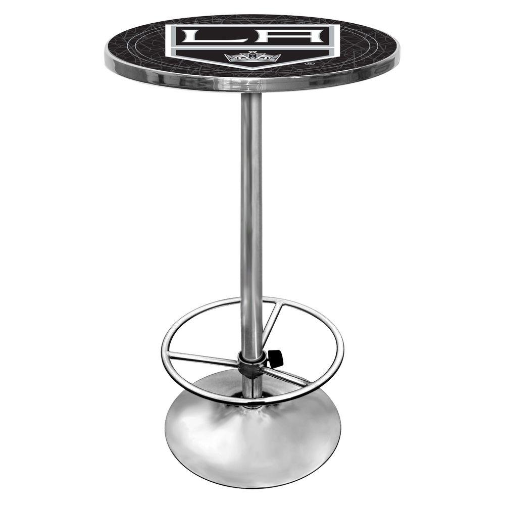 Trademark NHL Los Angeles Kings 42 in. H Pub Table