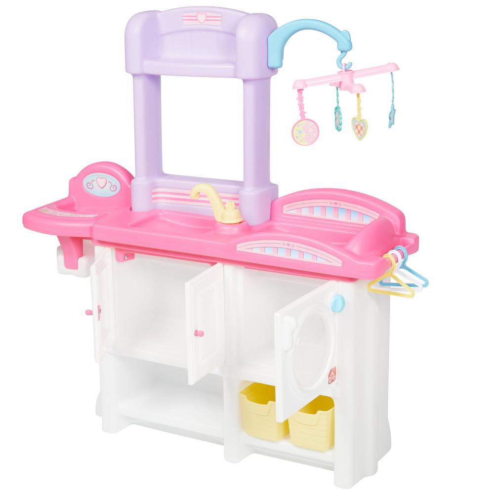 Nursery Playset Featuring Pastel Colors